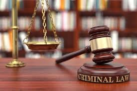 CRSS 110 - INTRODUCTION TO CRIMINAL LAW