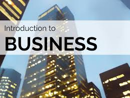 BCOM 101 - Introduction to Business