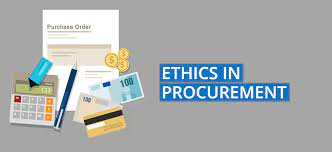 BPLM 412 - Ethics in Purchasing & Supplies Management