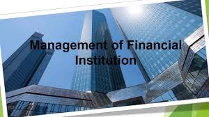 BCOM 432 - Management of Financial Institutions