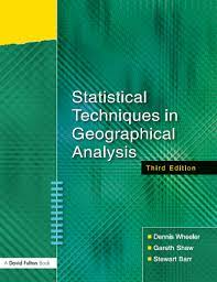 GEOG 146 - Introduction to Statistical Techniques in Geography